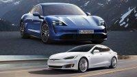 Porsche показа, че не го е страх от Tesla