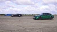 BMW M3 спори с Mercedes-AMG C63 и Audi RS5 на пистата