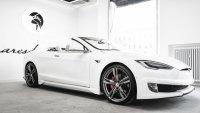 Италианци направиха Tesla Model S кабриолет