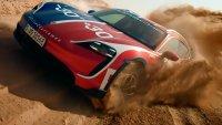 Porsche показа всъдеходните възможности на  Taycan Cross Turismo