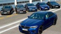 35 години BMW M5: Какво ще запомним от 6 поколения на суперседана?