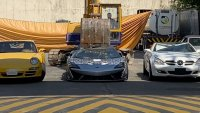 McLaren за 300 000 долара беше унищожен заради контрабанда