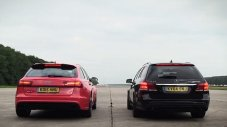 Суперкомбита: Audi RS6 Vs Mercedes E63 S