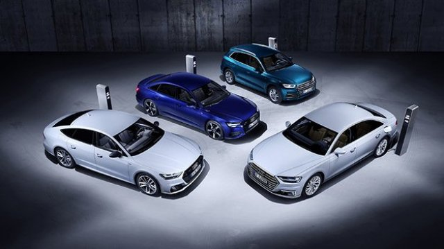 Audi has offered a new hybrid range