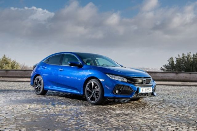 Дизеловата Honda Civic харчи едва 4,1 л/100 км