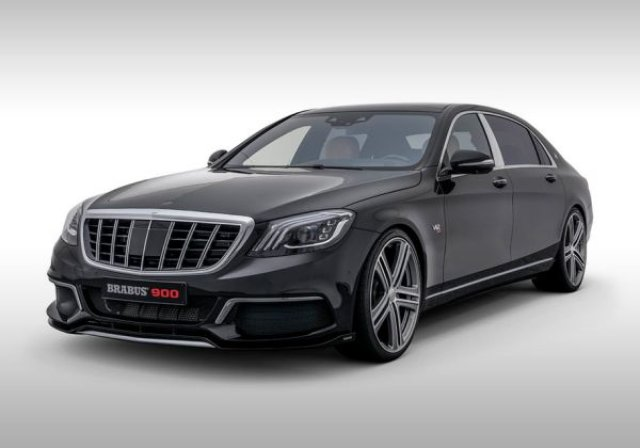 Brabus превърна Mercedes-Maybach в суперлимузина