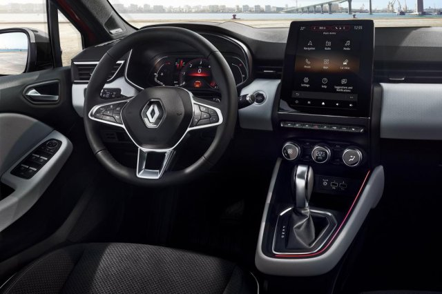 See the new Clio from inside