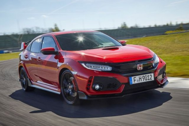 Honda Civic Type R получава 4x4 и по-мощен мотор