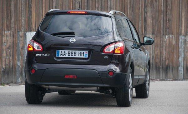 Произвежданият във Великобритания Qashqai никога не е бил сред най-надеждните автомобили. Проблемни тук са най-вече бензиновите агрегати - 1.6 (HR16DE) и особено 2.0 (MR20DE). И при двата често се случва семерингите да заклинят заради натрупан нагар, особено когато автомобилът се кара основно в градски режим. Много рискова е комбинацията на 1.6 с вариаторната кутия на Jatco JF015E, която нерядко започва да дава проблеми още след 20 000 км и трудно изкарва до 100 000 км. При двулитровия мотор след 80-100 хиляди км се разтяга ангренажният ремък, а след петата година много често се забелязват течове от дъното на картера.