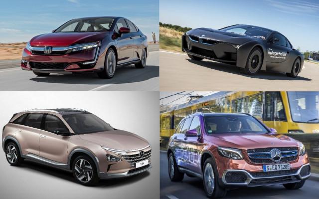 FCEV горивни клетки автомобили