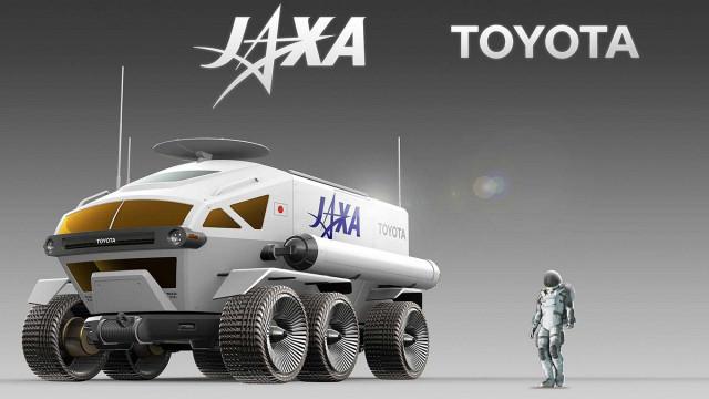 Toyota прави луноход