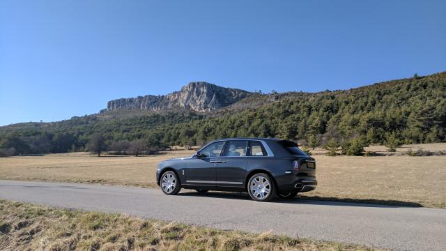 Rolls-Royce Cullinan тест драйв