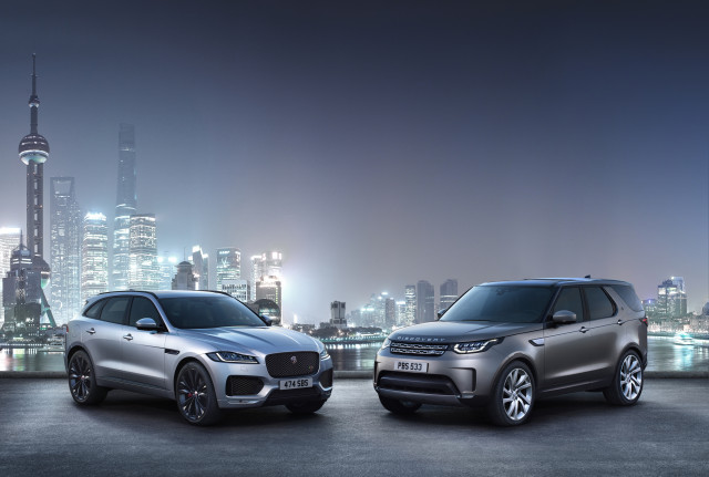 Jaguar F-Pace, Land Rover Discovery