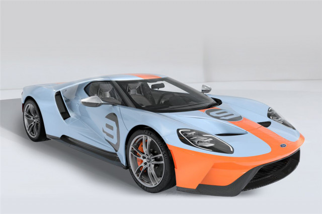 07-Ford GT Heritage Coupe от 2019 г.