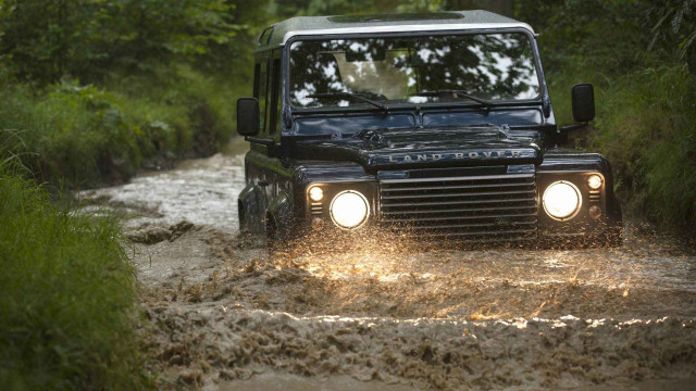 Land Rover Defender, 4x4, 4WD