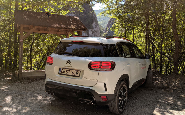 Citroen C5 Aircross test
