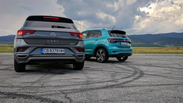Volkswagen T-Cross vs T-Roc