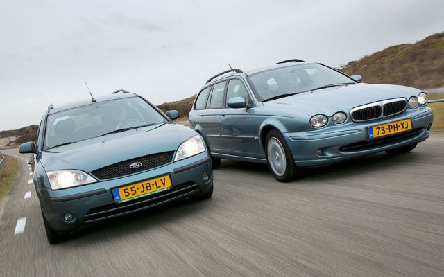 Jaguar X-type, Ford Mondeo