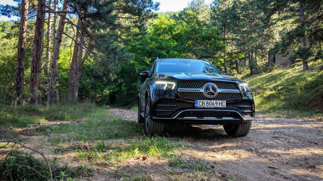 Mercedes-Benz GLE тест драйв