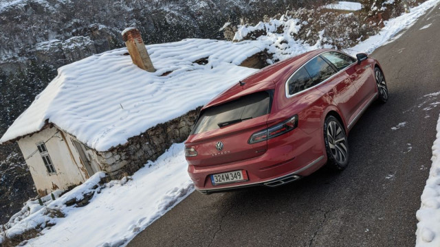 Volkswagen Arteon Shooting Brake тест драйв
