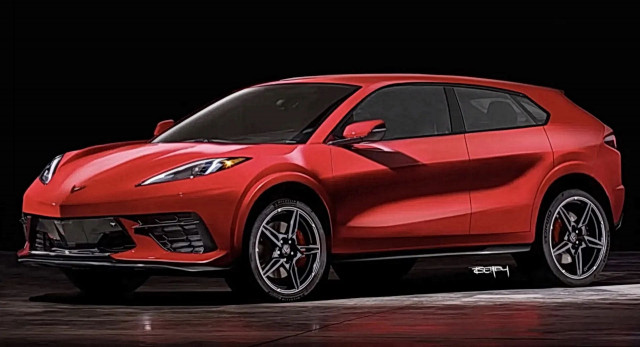 corvette suv render