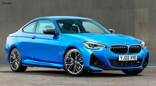 BMW 2 Series Coupe render